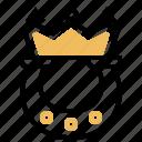 bet, casino, gambling, horseshoe, winner icon