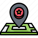 casino, gambling, game, gaming, location, map, pin icon