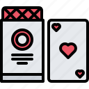 cards, casino, deck, gambling, game, gaming icon