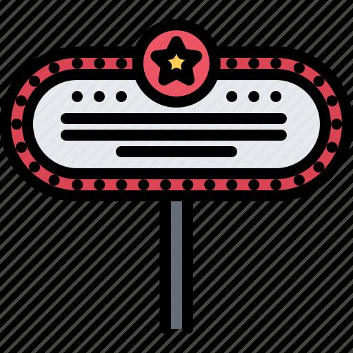 Casino, gambling, game, gaming, sign, signboard icon - Download on Iconfinder