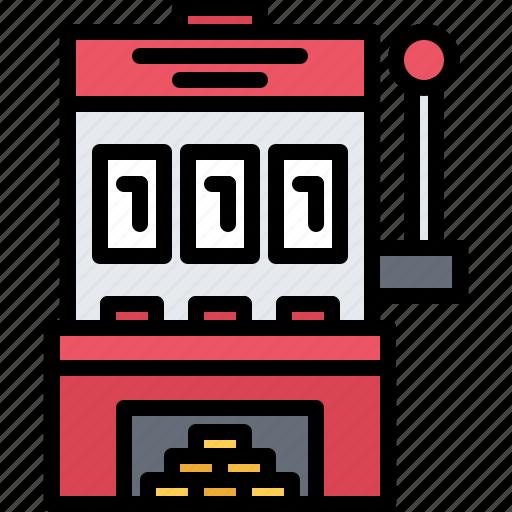 Casino, gambling, game, gaming, machine, slot icon - Download on Iconfinder