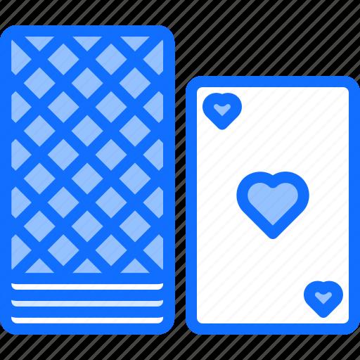 cards, casino, deck, gambling, game, gaming icon