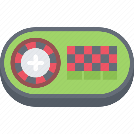 Ball, casino, gambling, game, gaming, roulette, table icon - Download on Iconfinder