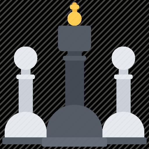 casino, chess, gambling, game, gaming, king, pawn icon