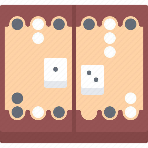 Backgammon, board, casino, gambling, game, gaming icon - Download on Iconfinder