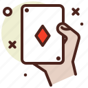 cheat, diamond, game, hand, poker icon
