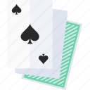 deck of cards, playing cards, spades suit icon
