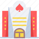 building, casino, gambling icon