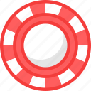 casino, chip, coin, gambling, poker icon