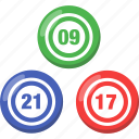 balls, bingo, lottery, lotto icon