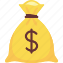 bag, money, of, sack icon