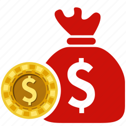 bag, bank, casino, dollar, gambling, money, wealth icon