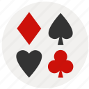 ace, blackjack, card, card game, casino, gamble, gambling icon