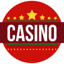 betting house, casino, gamble, gambling, gambling den, gambling establishment, gaming house icon