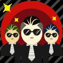 defend, gambler, guard, hooligan, protect, protector, secure icon