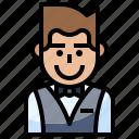 avatar, casino, elegant, man, people icon