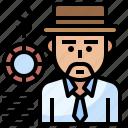 avatar, casino, gambler, gaming, man icon