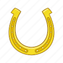 cartoon, fortune, graphic, horseshoe, luck, sign, western icon