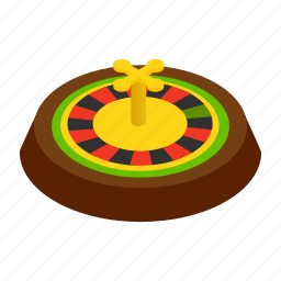 casino, gambling, game, isometric, risk, roulette, vegas icon