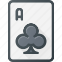 card, casino, club, game, leisure icon