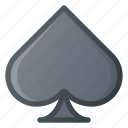 card, casino, game, leisure, spade icon