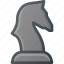 chess, figure, game, knight, leisure