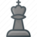 chess, figure, game, king, leisure icon