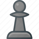 chess, game, leisure, pawn icon