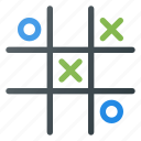leisure, tac, tic, toe icon