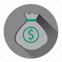 bank, banking, cash, dollars, earnings, finance, money icon