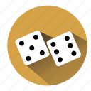 bet, casino, dice, gambler, gambling, game, board game