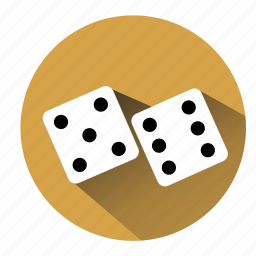 bet, board game, casino, dice, gambler, gambling, game icon