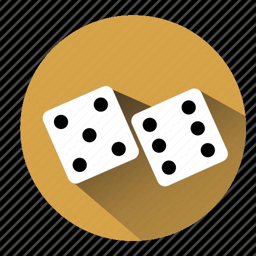 bet, board game, casino, dice, gambler, gambling, game icon