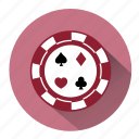 casino, chips, gambler, gambling, game, poker, poker chips icon