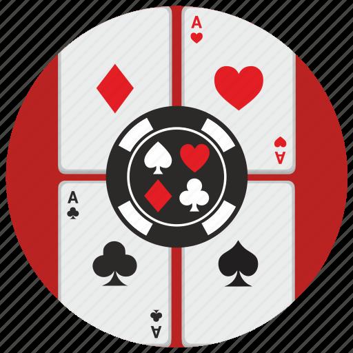cards, casino, gamble, game, poker icon