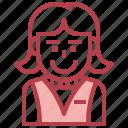 avatar, casino, elegant, people, woman icon