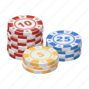 casino, chip, equipment, gambling, money, winnings icon
