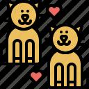 romance, pussycat, kitty, kitten, marriage, cat, pet