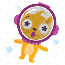 sticker, space, outer, cat, emoji, emoticon