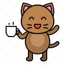 avatar, cat, cup, drinks, kitten icon