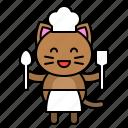 avatar, cat, chef, cook, kitten