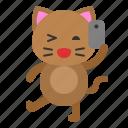 avatar, cat, kitten, selfie, take photo