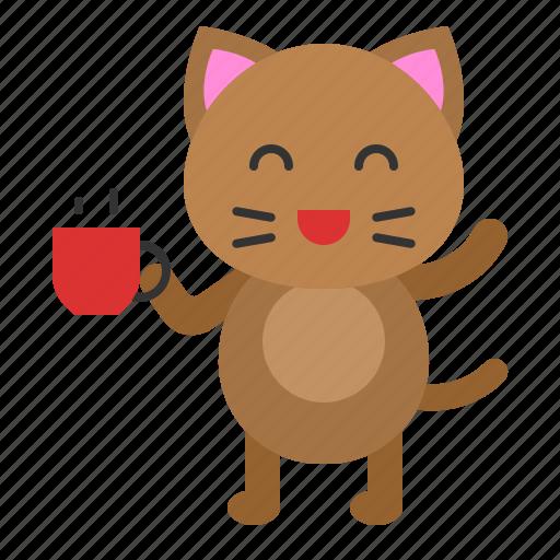 avatar, cat, cup, drinks, kitten icon