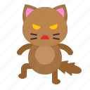 angry, avatar, cat, displeased, kitten icon