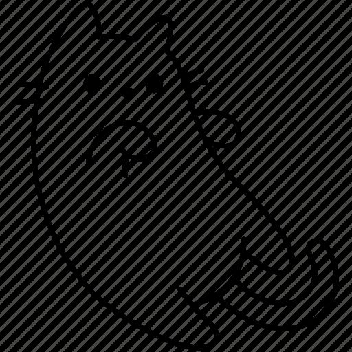 animal, cat, cute, feline, kitty, pet icon