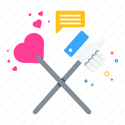 chat, communication, marketing, media, social, valentine icon