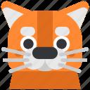 animal, cat, cute, muzzle, pet, pussy, redhead icon