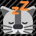 animal, cat, dream, pet, rest, sleep, slumber icon