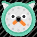 animal, cat, clock, pet, time, timer, watch icon