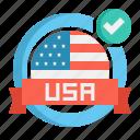 america, made, usa icon